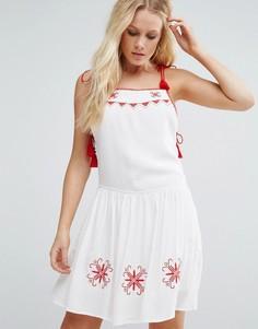 Приталенное платье Little White Lies Carys - Белый
