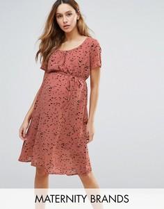 Платье Mamalicious Maternity - Розовый Mama.Licious