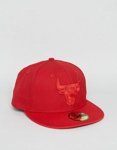 Кепка New Era 59Fifty Chicago Bulls - Красный