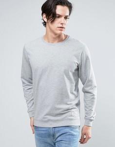 Серый свитшот Solid - Серый