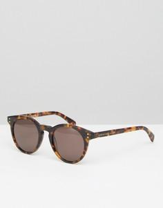 Круглые солнцезащитные очки в черепаховой оправе Marc By Marc Jacobs - Коричневый
