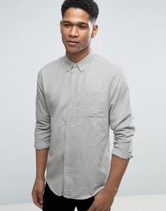 Рубашка с воротником на пуговицах Bellfield - Серый