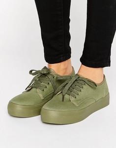 Кроссовки на платформе Blink - Зеленый
