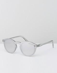 Зеркальные солнцезащитные очки Black Phoenix - Серебряный