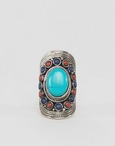 Кольцо с камнями Raga - Золотой