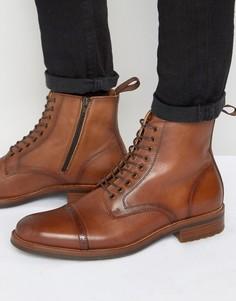 Теплые ботинки на шнуровке ALDO Beoduca - Коричневый