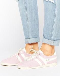 Бледно-фиолетовые замшевые кроссовки Gola Bullet - Фиолетовый