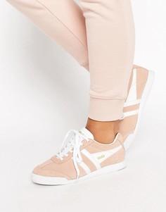 Розовые кроссовки Gola Harrier - Розовый