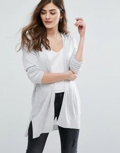 Кардиган New Look Minimal - Серый