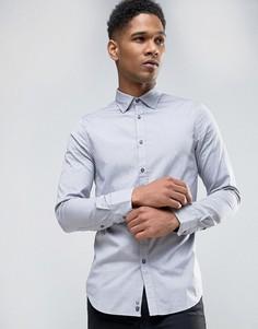 Приталенная рубашка Sisley - Синий