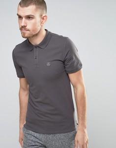 Узкая футболка-поло Selected Homme - Бежевый
