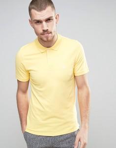 Узкая футболка-поло Selected Homme - Желтый