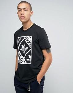 Футболка adidas Skateboarding Toolkit BJ8693 - Черный