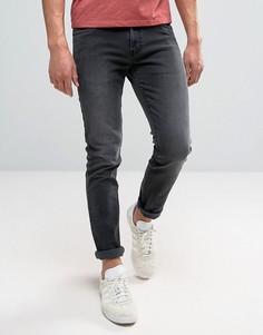 Темно-серые джинсы слим Farah Drake - Серый