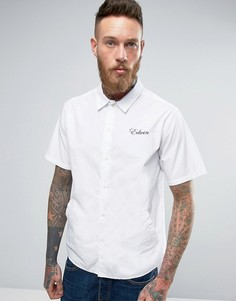 Рубашка с карманами и короткими рукавами Edwin - Белый