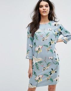 Платье с принтом птиц Y.A.S - Мульти