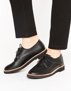 Ботинки на шнуровке London Rebel - Черный