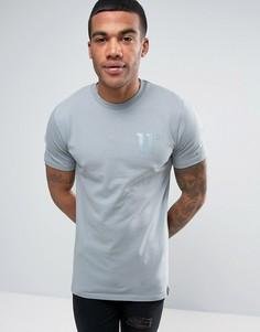 Серая футболка с логотипом 11 Degrees - Серый