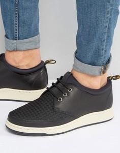 Ботинки с 3 парами люверсов Dr Martens Solaris - Черный