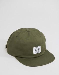 Бейсболка Herschel Supply Co Albert - Зеленый