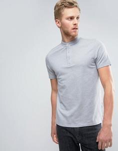 Поло Selected Homme - Серый