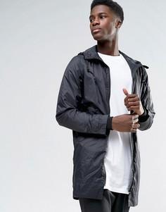 Длинная куртка Selected - Черный