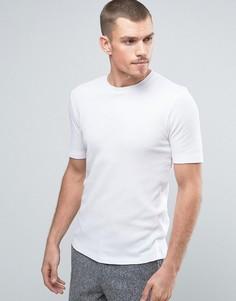 Футболка из вафельной ткани Selected Homme - Белый