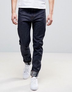 Суженные книзу свободные джинсы из необработанного денима G-Star Lanc 3D - Темно-синий