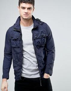 Рубашка-куртка с капюшоном G-Star Ospak - Синий