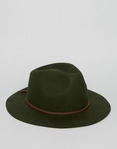Шляпа Brixton Wesley - Зеленый