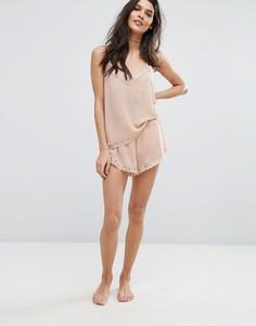 Шифоновые шорты Y.A.S - Розовый