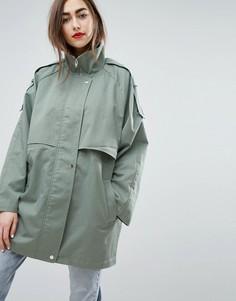 Пальто на каждый день Moss Copenhagen - Зеленый