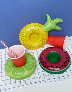 Надувные подставки под напитки в виде фруктов Big Mouth - Мульти