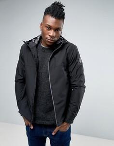 Узкая куртка-дождевик с капюшоном Timberland - Черный