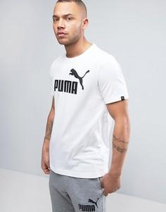 Белая футболка Puma ESS No.1 838241 02 - Белый