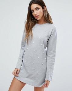 2224bb10601 Купить женские теплые и вязаные платья Missguided в интернет ...