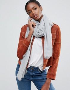Легкий однотонный шарф ASOS - Серый