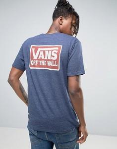 Синяя футболка Vans VA312I10I - Синий