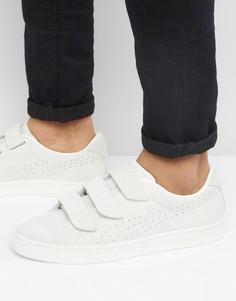 Белые кроссовки на липучках Puma Basket 36318502 - Белый