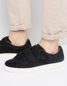 Черные кроссовки на липучках Puma Basket Premium 36318501 - Черный
