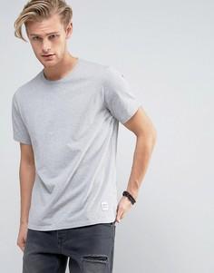 Серая футболка Converse Essentials 10000658-A07 - Серый