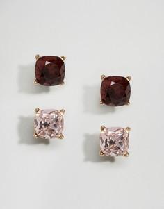 Серьги-гвоздики c камнями ALDO Freinna - Золотой