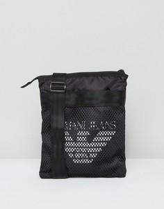 Черная сумка Armani Jeans - Черный