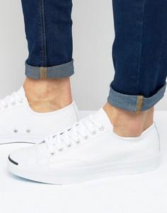 Белые кожаные кеды Converse Jack Purcell Ox 1S961 - Белый