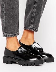 Туфли на плоской подошве Sixtyseven - Черный
