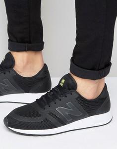 Черные кроссовки в стиле 70-х New Balance Running 420 MRL420BR - Черный