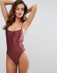 Слитный купальник Somedays Lovin - Красный