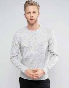 Стеганый свитшот Jack & Jones Premium - Серый