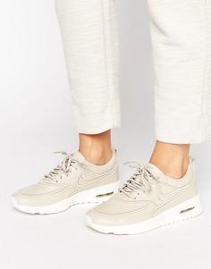 Бежевые кроссовки Nike Air Max Thea Ultra Premium - Бежевый