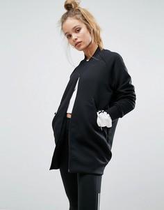 Длинный бомбер-премиум adidas Z.N.E - Черный